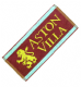 Aston Villa FC Old Style Lion cotton bar towel    (pp)